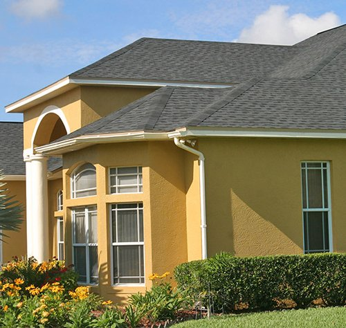 Licensed Roofer Repairs roof of home in Lake Mary FL at Timacuan Blvd