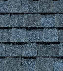 Atlantic blue shingle color