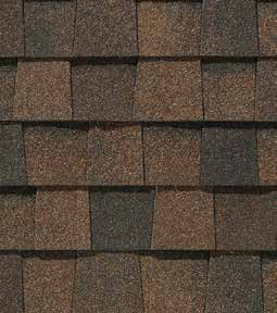 Burnt sienna shingle color