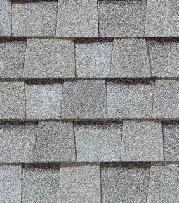 Cobblestone gray shingle color
