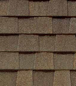 Heather blend shingle color