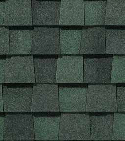 Max def hunter green shingle color