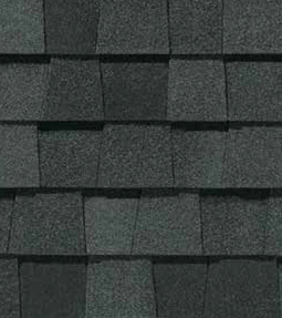 Max def moire black shingle color