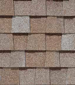Max def mojave tan shingle color