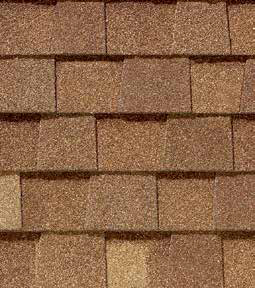 Resawn shake shingle color