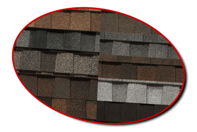 Roof color swatches graphic